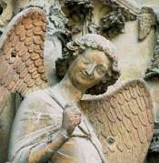 tourisme à Reims,ange sourire de  Reims
