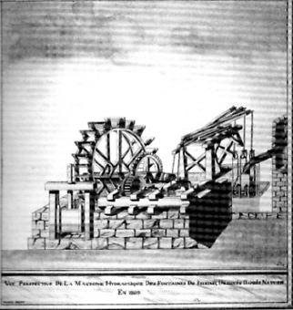 Reims,L'ancien mécanisme conçu par andré Fery, chanoine de l'ordre des Minimes