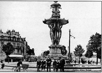 Reims,Fontaine Bartholdi