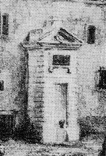 Reims,Fontaine de l'Hôtel-Dieu qui se trouvait près de la Cathédrale (à l'emplacement de l'actuel Palais de Justice,  Reims