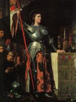 tourisme à Reims,Jeanne d'Arc sacre de charles X à Reims