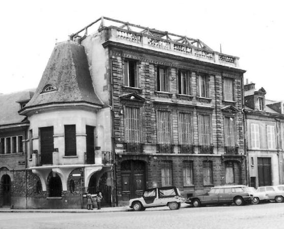 la maison natale à Reims de Paul Wenz