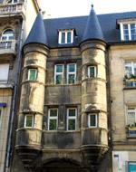 la place du Chapître à Reims