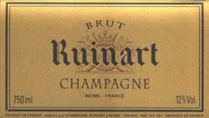 Champagne Ruinart à Reims