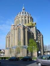 Tourisme Reims, l'église sainte clotilde