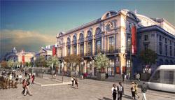 Palais de justice de Reims et Grand théâtre de Reims