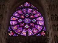 tourisme à Reims, vitraux cathédrale de  Reims